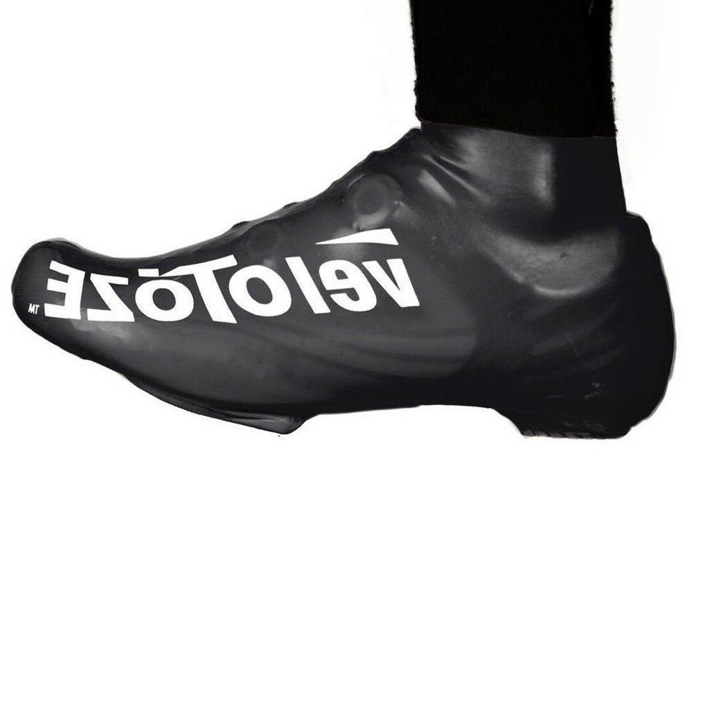 latex cycling aero oversocks shoe covers short