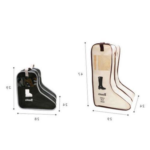 Long Boot Bag Dustproof Folding Carry