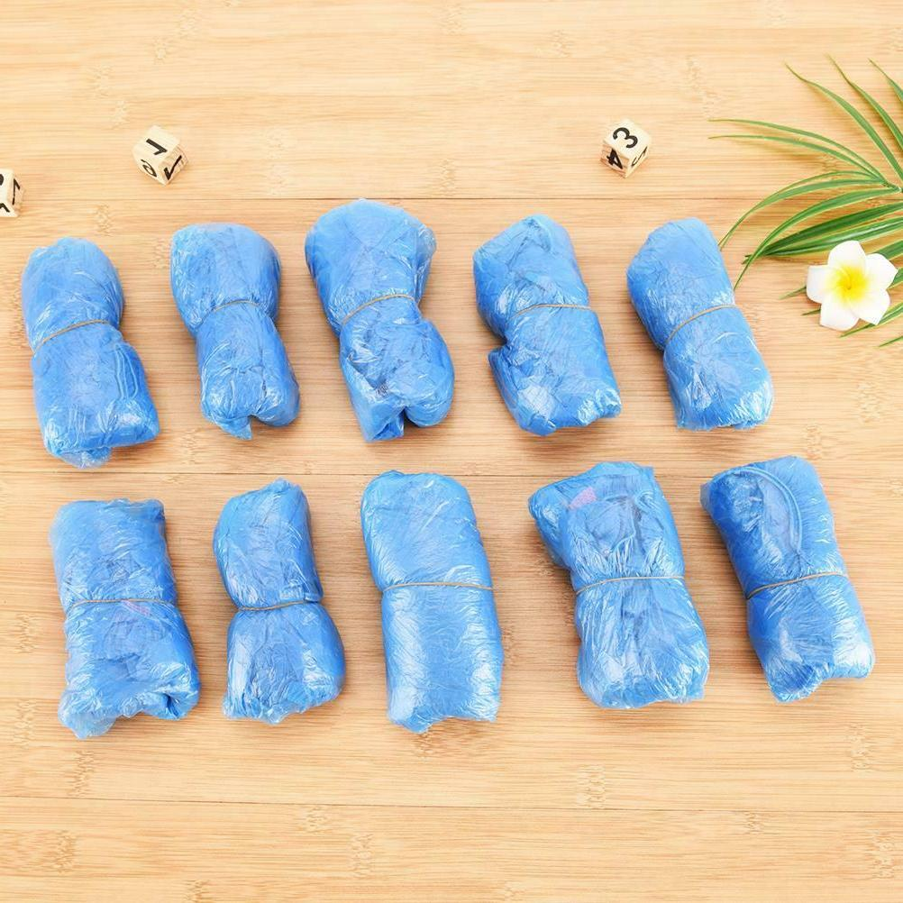 500x Anti Safety Shoe Cover PVC Plastic