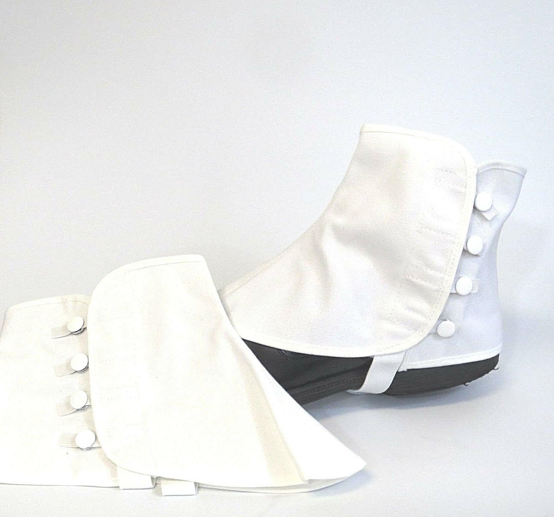 Men White Snaps 2 Sizes S/M L/X USA Made