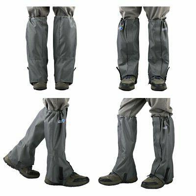 Mountain Hiking Gaiters High Leg Shoes Covers
