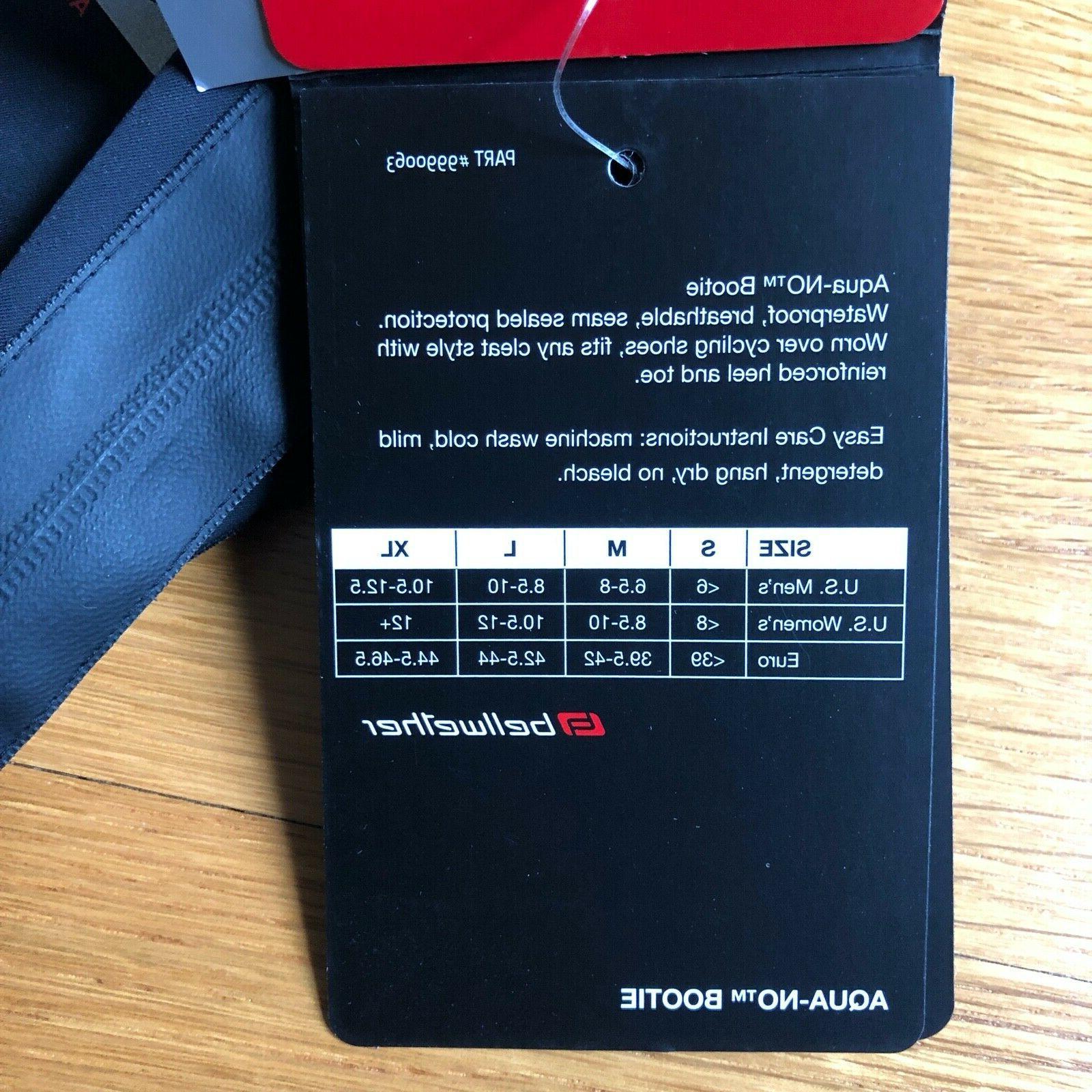 New Aqua-No Waterproof Shoes Covers Cycling