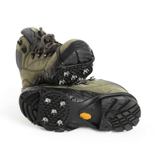 non slip snow cleats shoes boots cover