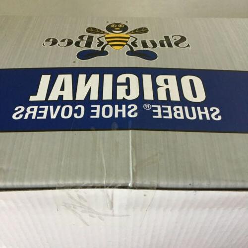 original shoe covers black 50 pair