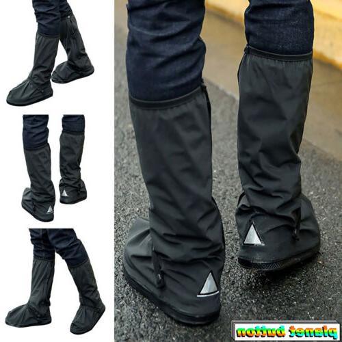 outdoor hiking rain shoe covers bike waterproof