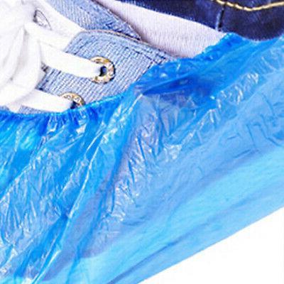 Plastic Shoe Overshoes Cover Blue