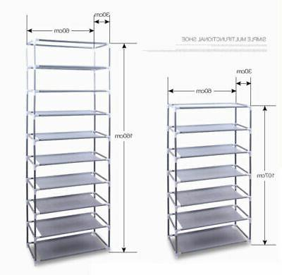 Portable Shoe Rack Storage Home Cabinet Cover