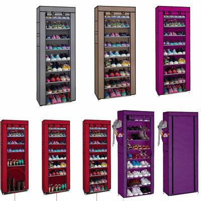 portable shoe rack shelf storage closet home
