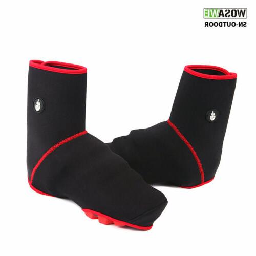 pro winter windproof thermal cycling shoe covers