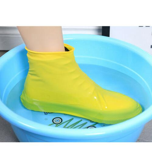 Rain Waterproof Shoe Covers Boot Recyclable Silicone
