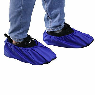 2 Pairs Waterproof Covers Reusable Slip Overshoes