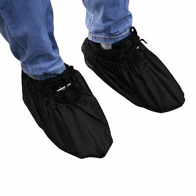 2 Reusable Washable Non Work Overshoes for Indoors