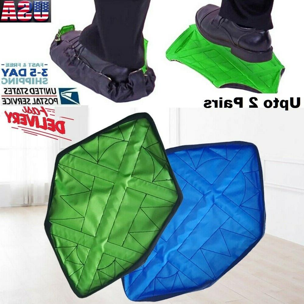 reusable shoe covers overshoes boot plastic waterproof