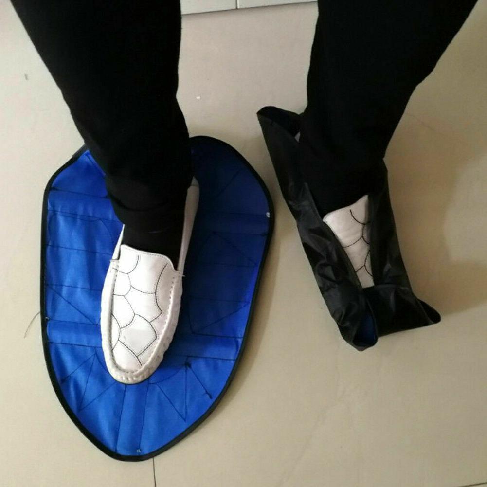 Reusable Hands Free Shoe Durable Portable Cover US