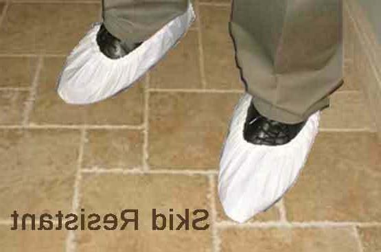 shoe covers 1000 lot 500 pairs white