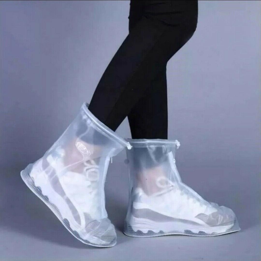 Shoe Covers Waterproof Rain Anti-slip Shoes Cycling