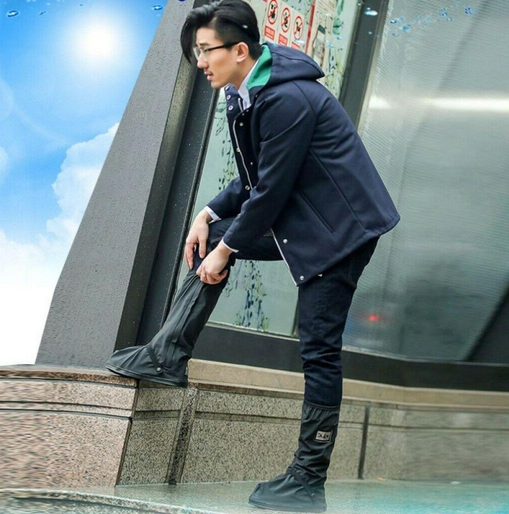 Rain Cover Waterproof Rain Boot High-Top Overshoes Recyclyable
