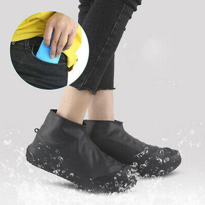 silicone rain waterproof shoe covers boot cover