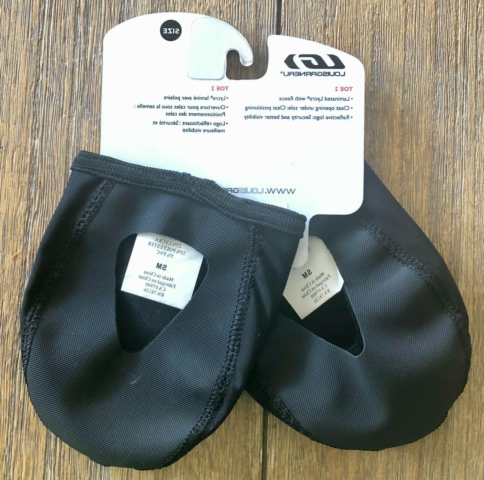 Louis Toe Shoe Covers Size Black