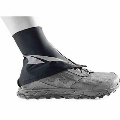 trail gaiter protective shoe covers black s