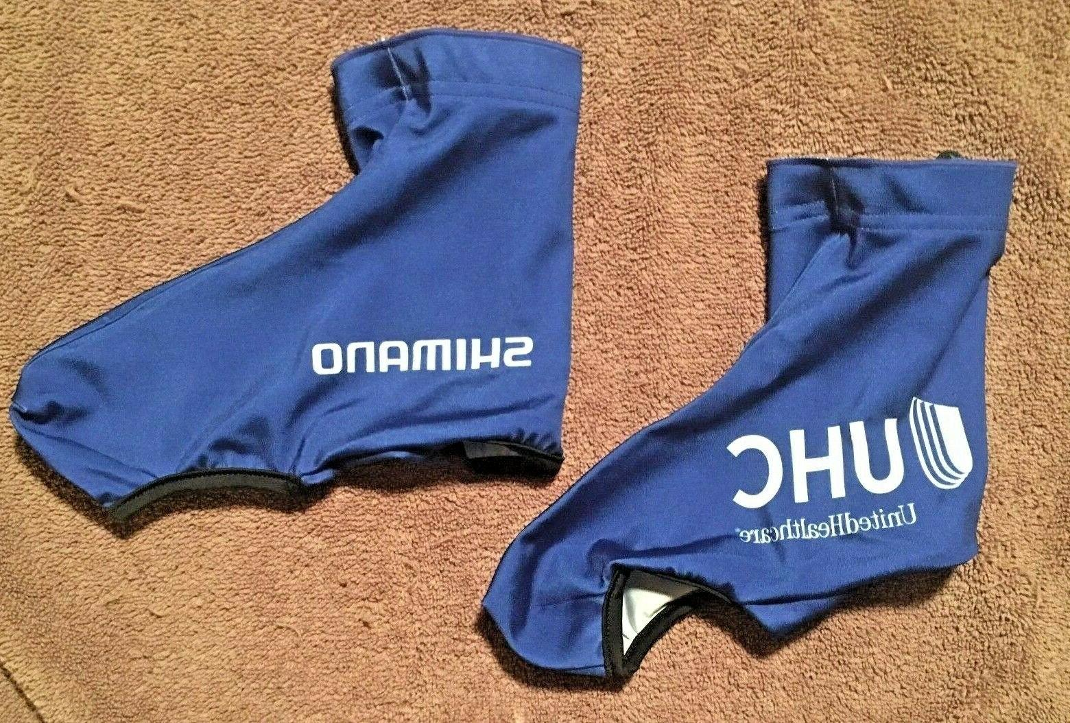united healthcare shimano thermal cycling shoe covers