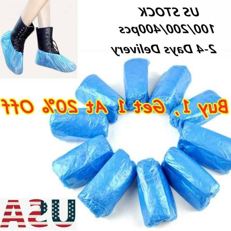 100 200 400 pcs plastic waterproof shoe