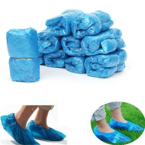 US Plastic Covers Overshoes Protective Dustproof
