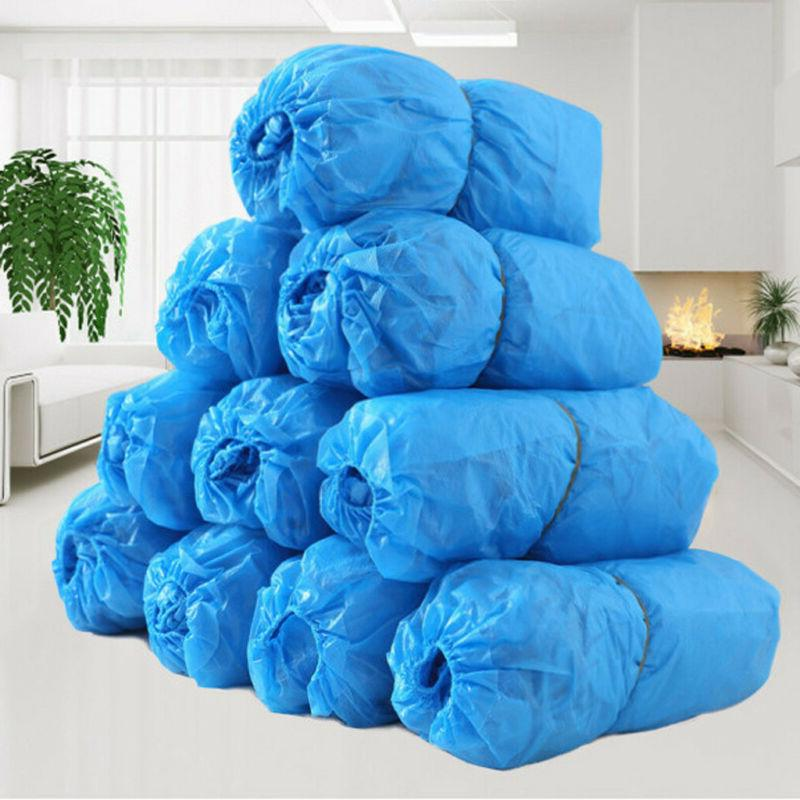 500PCS Disposable Covers Nonskid Booties Floor