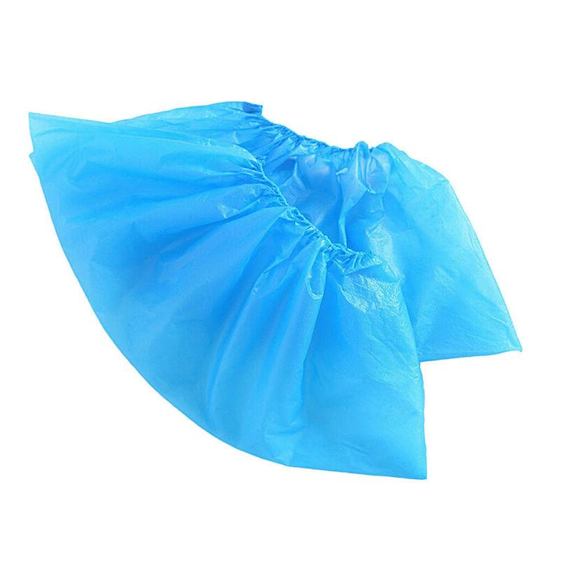 500-2000X Disposable Plastic Shoe Covers Cleaning Dustproof