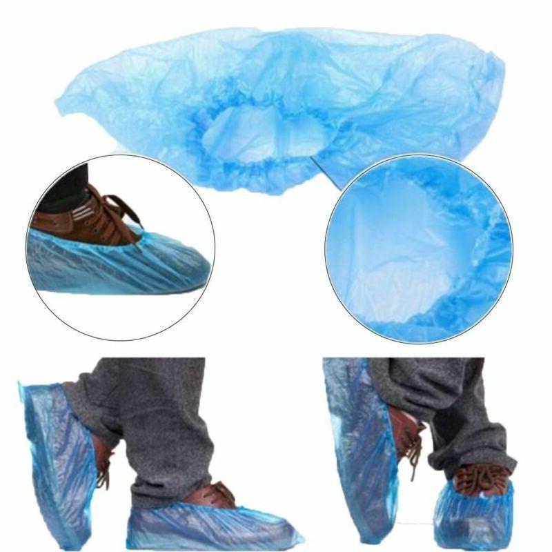 400PCS Shoe Covers Waterproof Overshoes