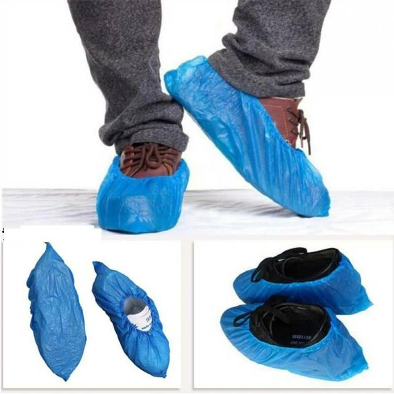 400PCS Shoe Covers Plastic Waterproof Healthy Care