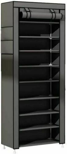 USA 10 Pairs Rack Tower Cabinet Organizer Storage