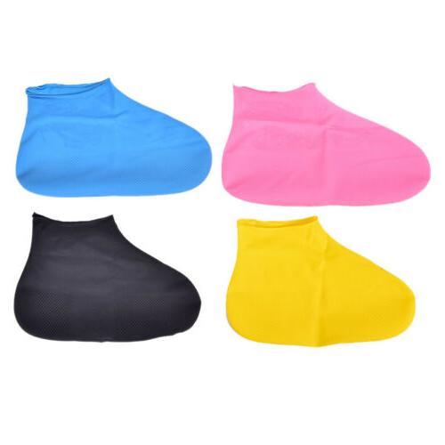 waterproof disposable elastic latex boot cover rain