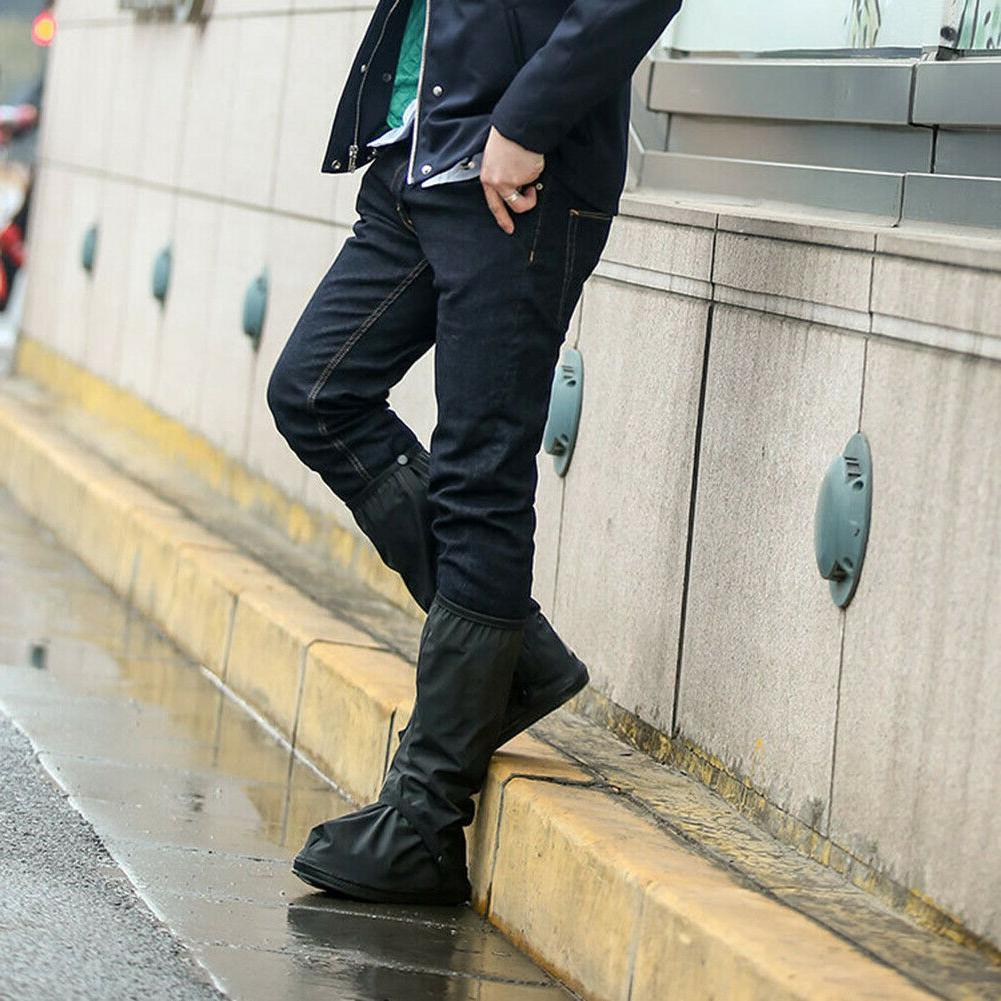 High Waterproof Shoe Covers Rain Boot Protector