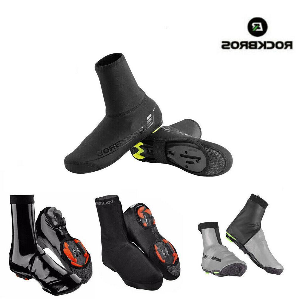 winter bike cycling shoe covers waterproof warm