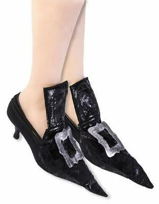 witch and wizard costume shoe covers adult