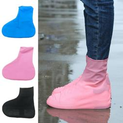 Latex Wear-resistant Waterproof Reusable Boot Shoe Covers No