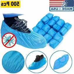 Lot/500x Waterproof Boot Covers Disposable Shoe Cover Elasti