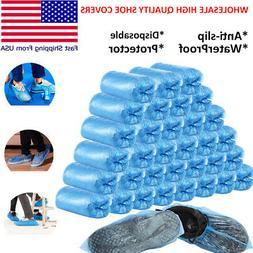 Lots of 10 Packs  WaterProof Disposable Anti Slip Boot Shoes