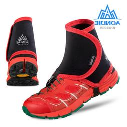 Low Trail Running Gaiters Protective Wrap Shoe Covers Pair F
