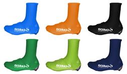 Zimco Lycra Cycling Bicycle Shoe Cover Booties Overshoes wit