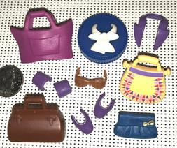 m3~PLAYMOBIL Pick 1~CLUTCH~PURSE~TOTE~GLASSES~LAPELS~SLEEVE