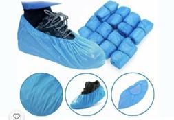 Medical Blue Shoe Covers Non Slip Disposable Floor Overshoes