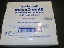 Medical Disposable Shoe Covers OEM CRI2000,Regular size,Blue