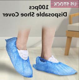 Medical Waterproof Anti Slip Boot Cover Plastic Disposable S