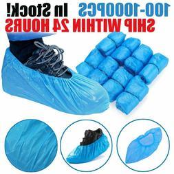 Medical Waterproof AntiSlip Boot Shoe Covers Plastic Disposa