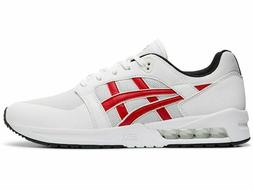 ASICS Men's GEL-Saga Sou White/Classic Red Sport-Style Shoes