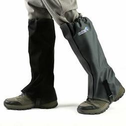 mountain hiking hunting boot gaiters waterproof snow