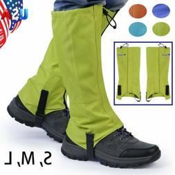 Mountain Hiking Hunting Boots Gaiters Snow Snake High Leg Sh