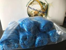 New Blue Disposable Shoe / Boot Medical-Grade Shoe Cover Ref